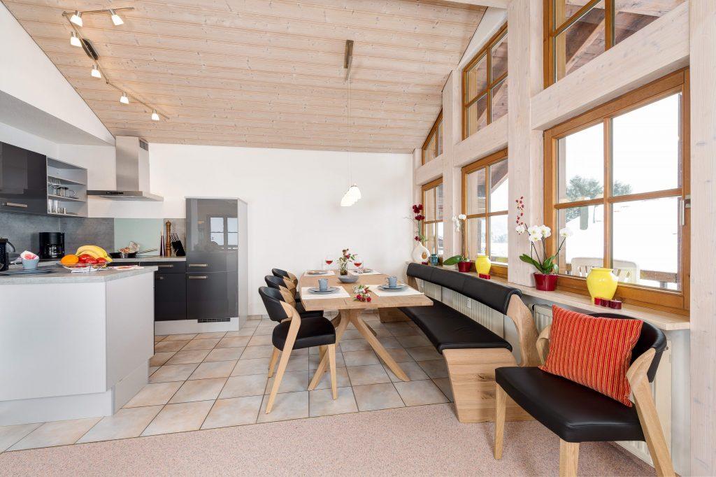 Ferienwohnung Alpenzauber Küche